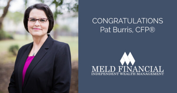 Congratulations Pat Burris, CFP® of Meld Financial
